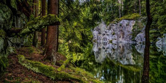 Imposante Zeitzeugen: Die alten Granitfelsen im Fichtelgebirge (2)