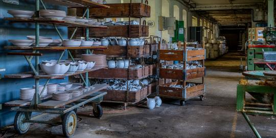 Kombi-Angebot Lost Places 2020: Porzellanfabrik und Papierfabrik
