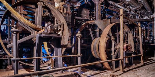 Von der Rolle: Die Faszination der stillgelegten Papierfabrik (2)