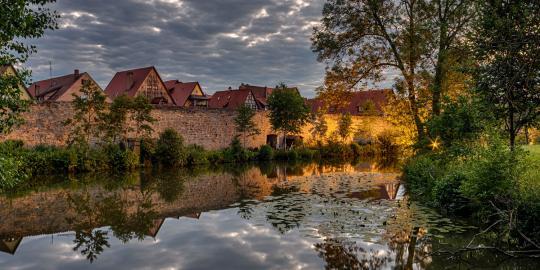 Lichtes Mittelalter: Dinkelsbühl bei Nacht (4)